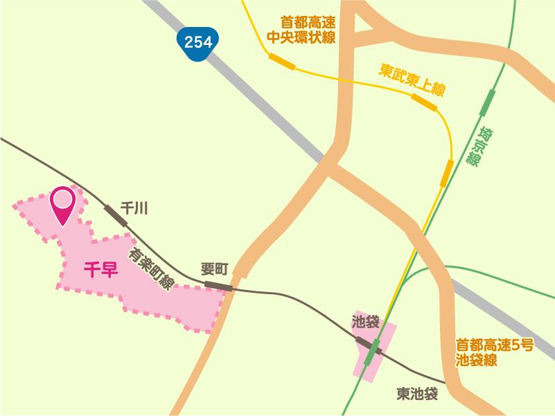 ちは家の地図