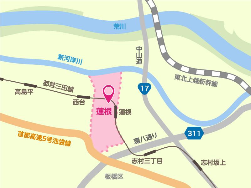 北陽寮地図